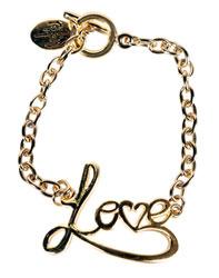 Love Script Bracelet