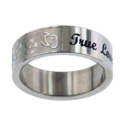 True Love Waits Floral Ring
