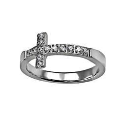 Sideways Cross Ring - FP-RNGH15