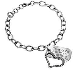 Joy Heart Chain Bracelet