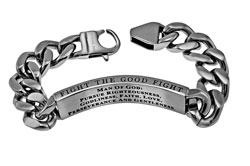 Man of God Cable Bracelet - ST-CAB-B-MOG