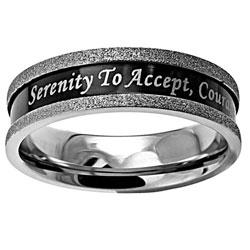 Serenity Ebony Champagne Ring