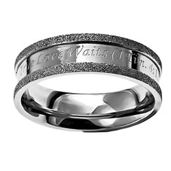 True Love Waits Champagne Ring