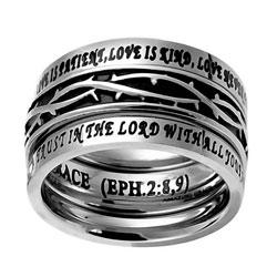 Crown of Thorns Tiara Ring