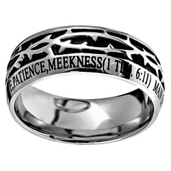 Man of God Crown of Thorns Ring - ST-COT-MOG