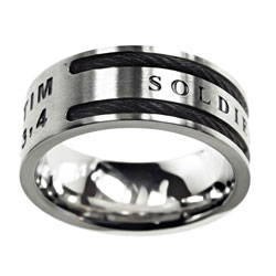Soldier of Christ Cable Ring