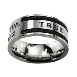 True Love Waits Cable Ring