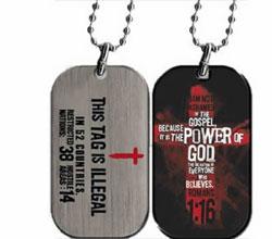 Gospel Power Dog Tag
