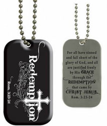 Redemption Dog Tag