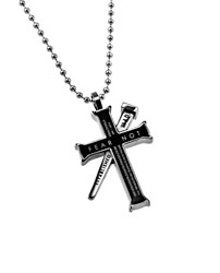 Fear Not Established Cross Necklace