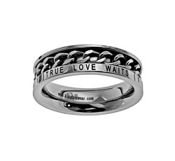 True Love Waits Chain Ring - ST-GCR TLW