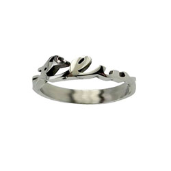 True Love Waits Cursive Ring