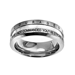 Courageous Industrial Band Ring