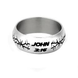John 3:16 Crown of Thorns Ring - FP-RNGE15153