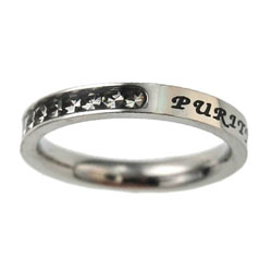 Purity Princess Cut Ring