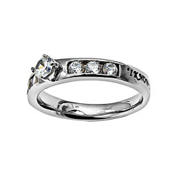 I Know Princess Solitaire Ring