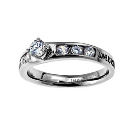 Love Princess Solitaire Ring