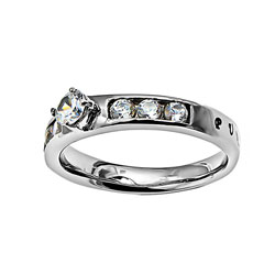 Purity Princess Solitaire Ring - ST-PS PUR