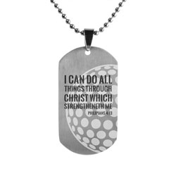 Golf Dog Tag - LDP-DTG15197