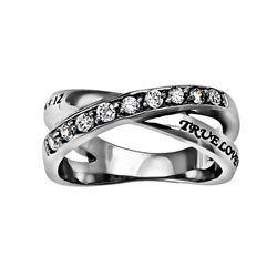 True Love Waits Radiance Ring - ST-RAD TLW