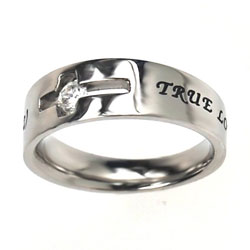 True Love Waits Solitaire Ring