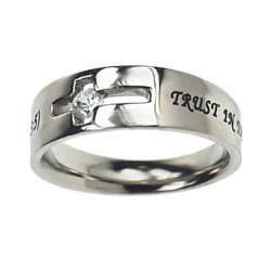 Trust Solitaire Ring