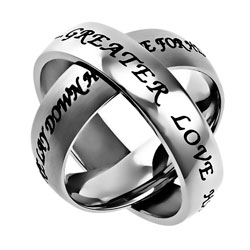 No Greater Love Axis Ring