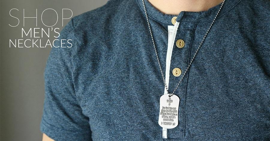 Mens Cross Necklaces