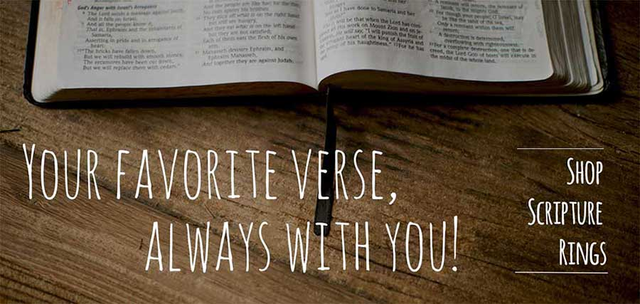 Take your favorite verse with you