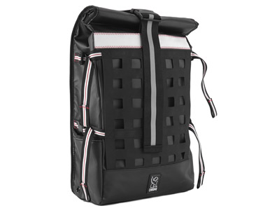 Chrome Rubberized Barrage backpack