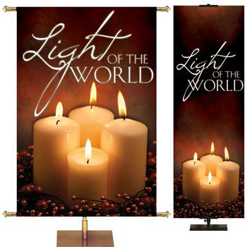 Advent Church Banners from PraiseBanners