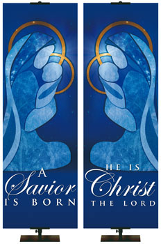 Church Christmas Banner from PraiseBanners