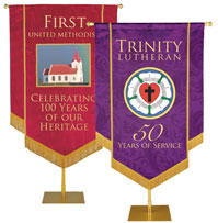Custom Church Anniversary Banners
