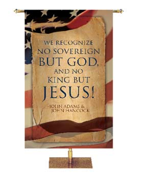 Patriotic US Church Banners