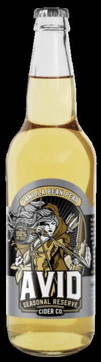 Vanilla Bean Pear Cider