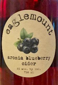 Aronia Blueberry Cider