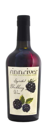 Spirited Blackberry Wine