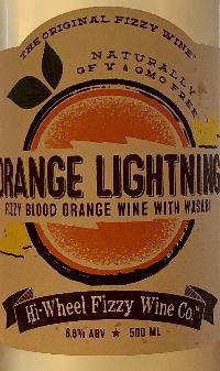 Orange Lightning