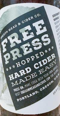 Free Press Hopped Cider