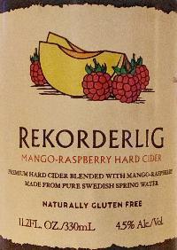 Mango-Raspberry Hard Cider