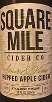 Hopped Apple Cider