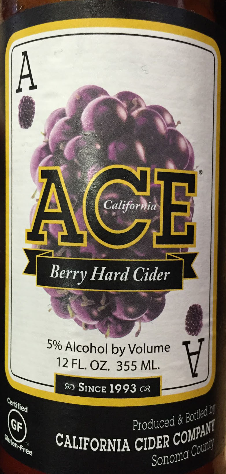 Berry Hard Cider