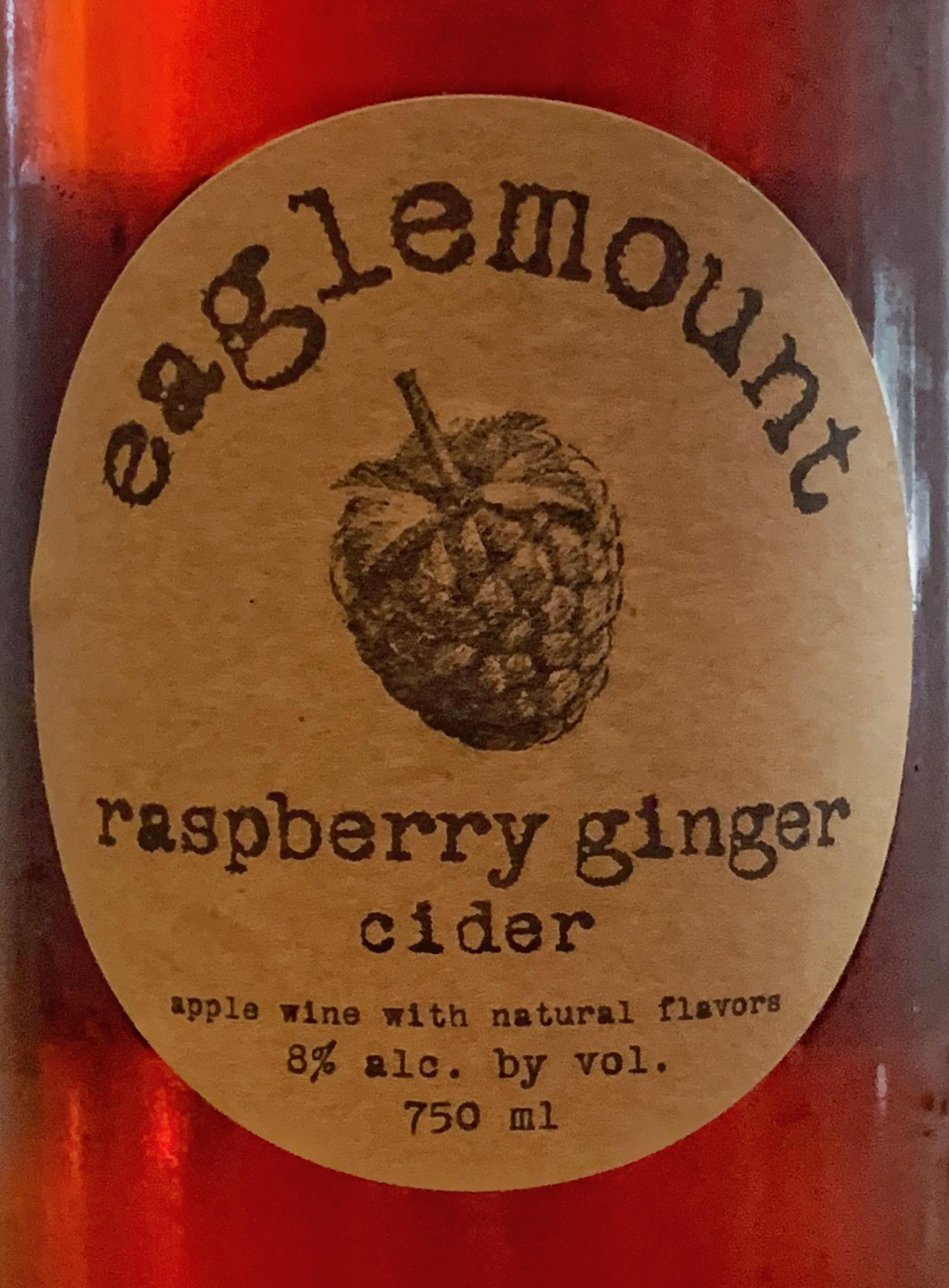 Raspberry Ginger Cider