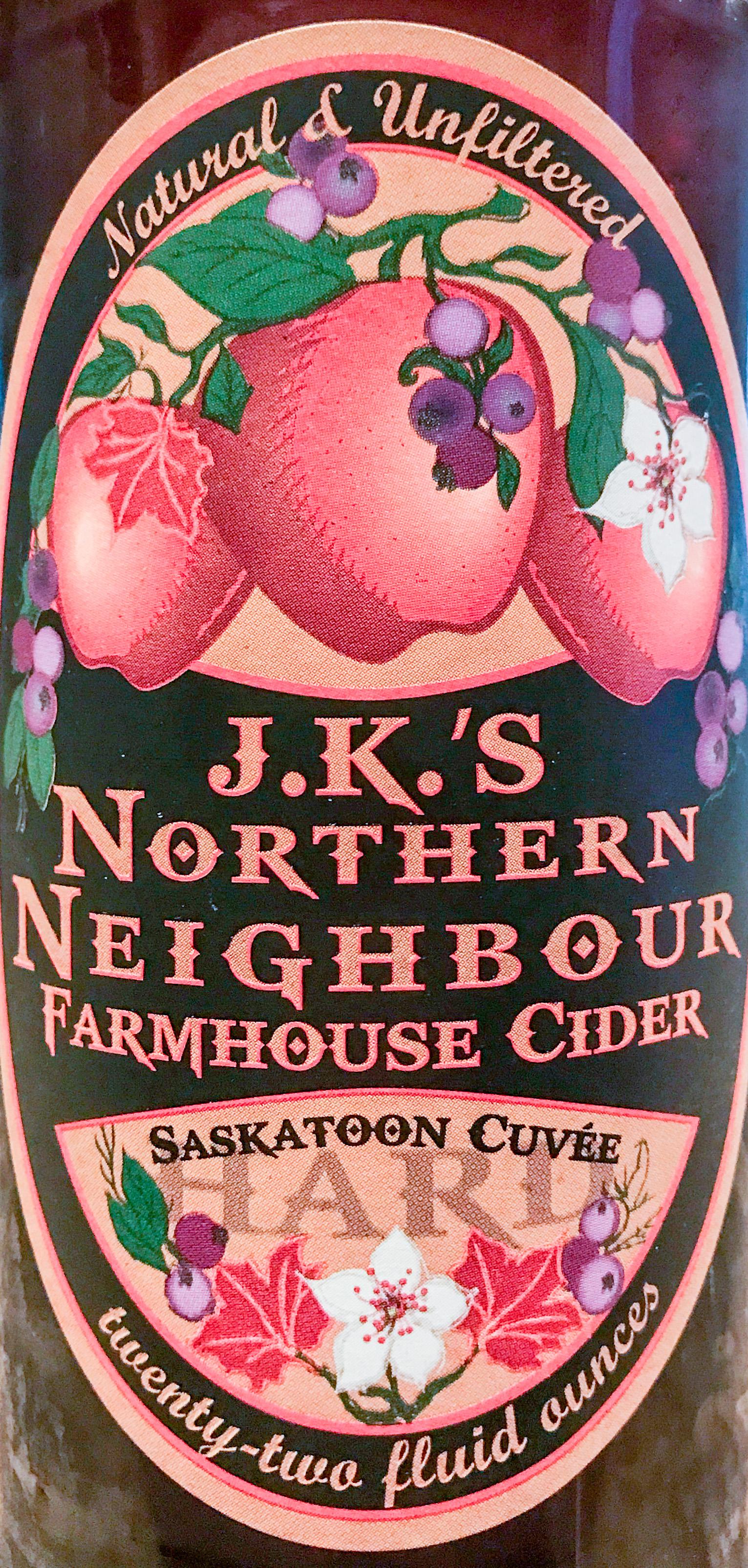 Northern Neighbour Saskatoon Cuvée