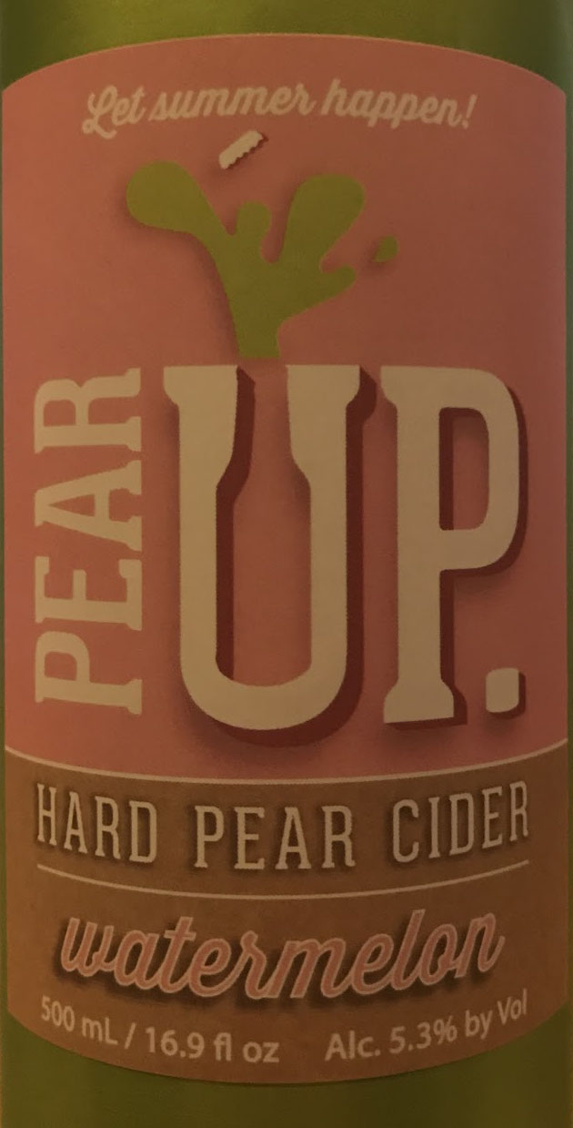 Pear Up Watermelon