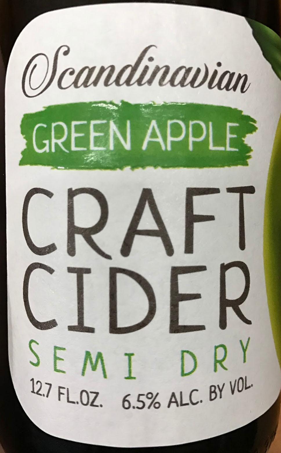 Semi Dry Cider