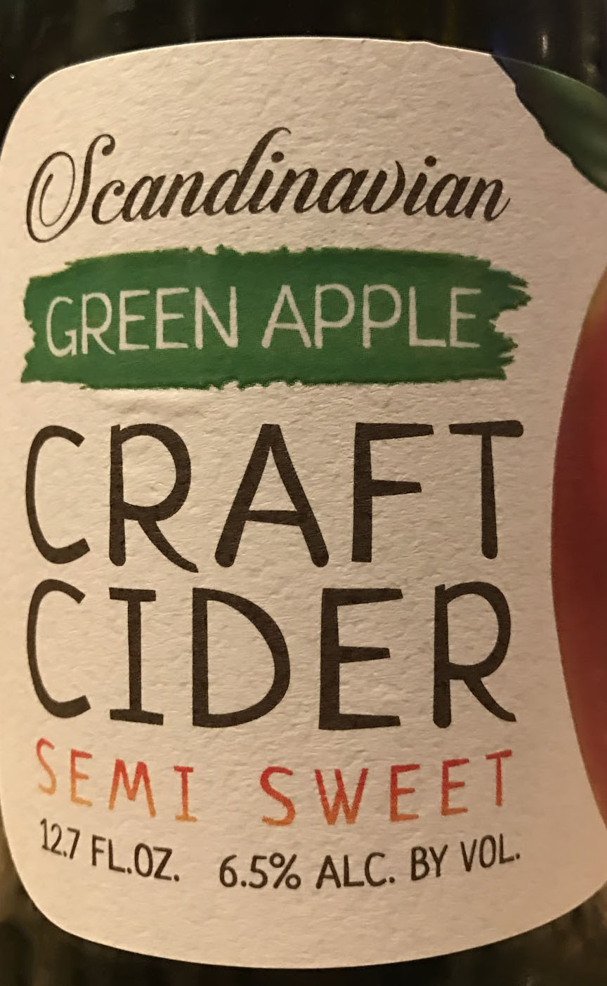 Semi Sweet Cider