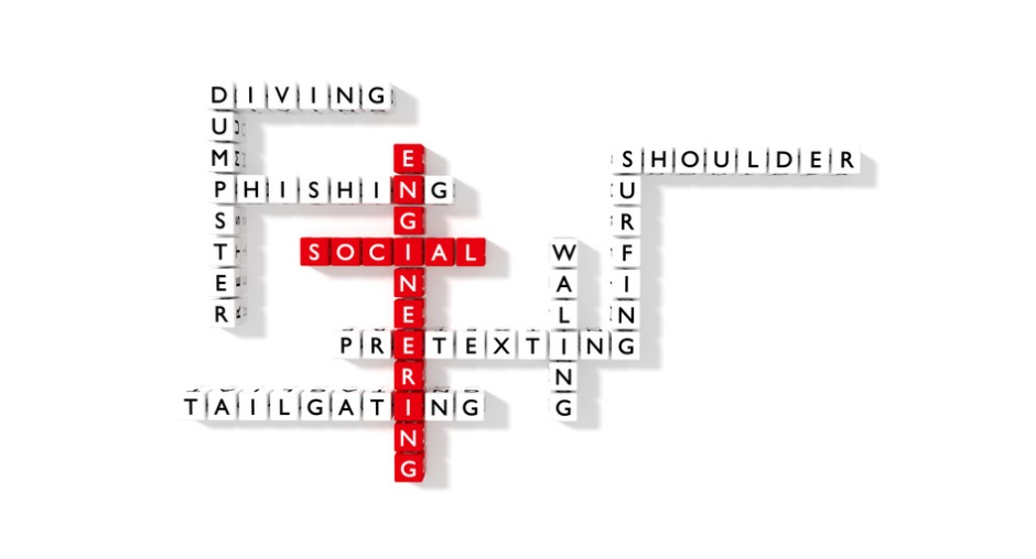 Social engineering crossword puzzle cybersecurity concept flat design illustration id653513376 %281%29