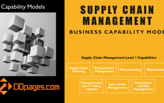 Supply chain capabilities model
