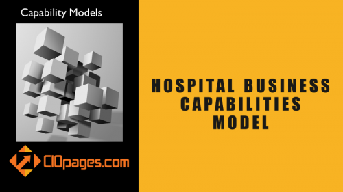 Hospital Business Capabilities Model